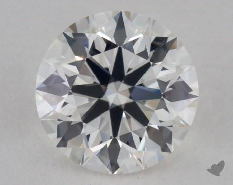 0.77 Carat H-VS2 Excellent Cut Round Diamond
