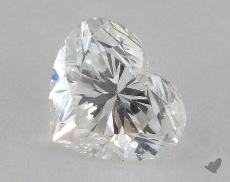 1.50 Carat H-SI2 Heart Shape Diamond