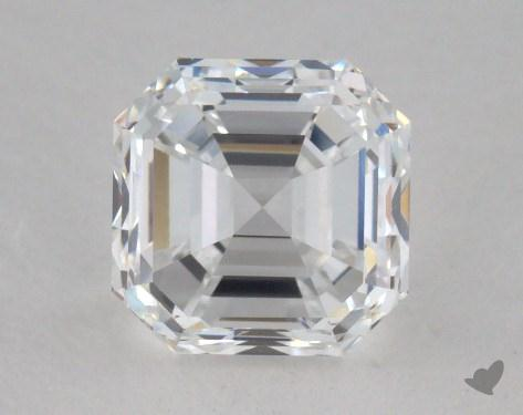 1.21 Carat D-VS1 Square Emerald Cut Diamond