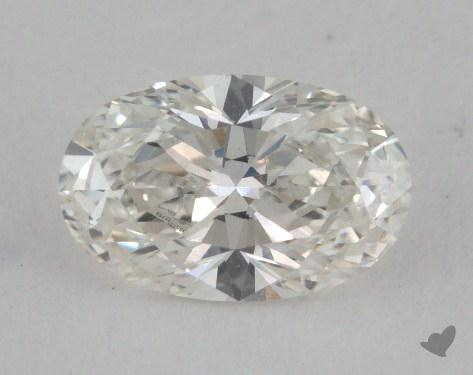 0.77 Carat H-IF Oval Cut  Diamond