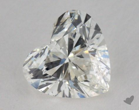 1.20 Carat H-SI1 Heart Cut Diamond
