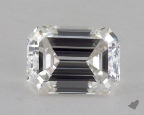 1.51 Carat H-VVS2 Emerald Cut Diamond