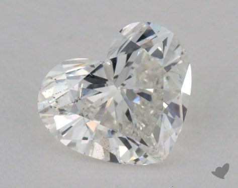 1.53 Carat H-SI2 Heart Shape Diamond