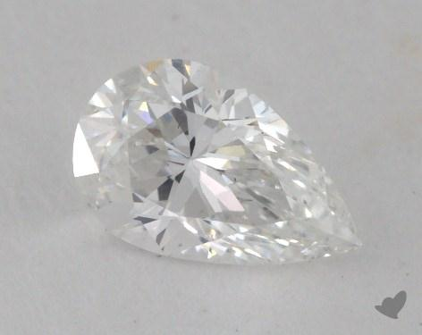 0.41 Carat F-VS2 Pear Shaped  Diamond