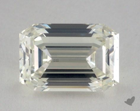 2.54 Carat J-VS2 Emerald Cut  Diamond
