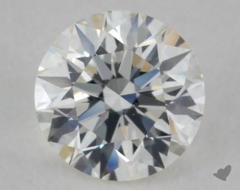 0.84 Carat H-VS2 Ideal Cut Round Diamond