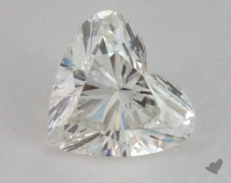 2.05 Carat H-SI2 Heart Shaped  Diamond