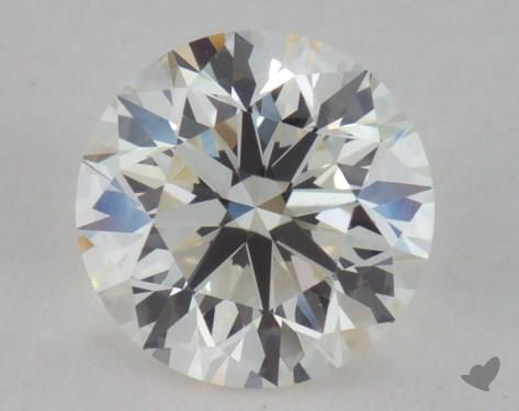 0.90 Carat I-VVS1 Very Good Cut Round Diamond
