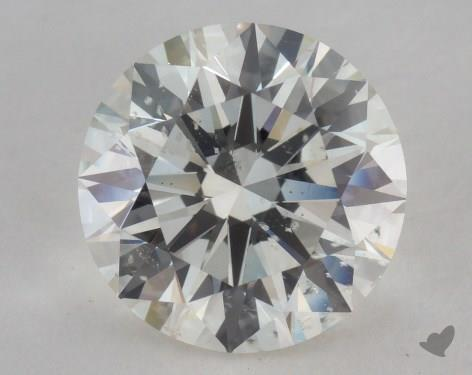 2.53 Carat I-SI2 Excellent Cut Round Diamond