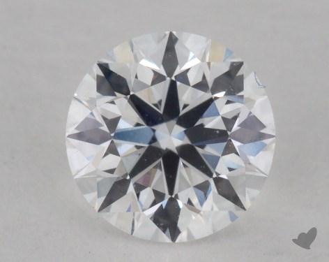 0.69 Carat D-VS1 Very Good Cut Round Diamond
