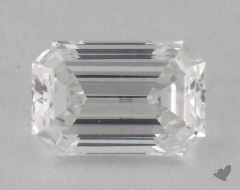 0.75 Carat F-VVS2 Emerald Cut Diamond