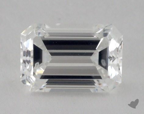 1.53 Carat F-VS2 Emerald Cut Diamond