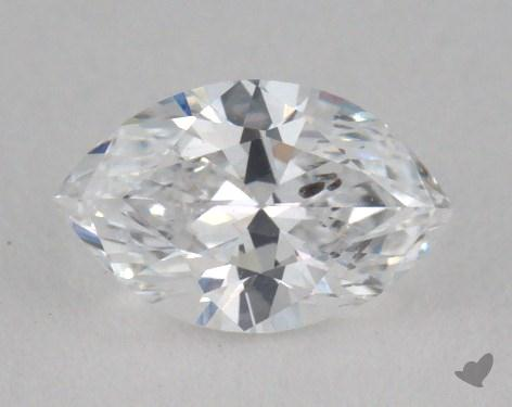 0.49 Carat D-I1 Marquise Cut Diamond