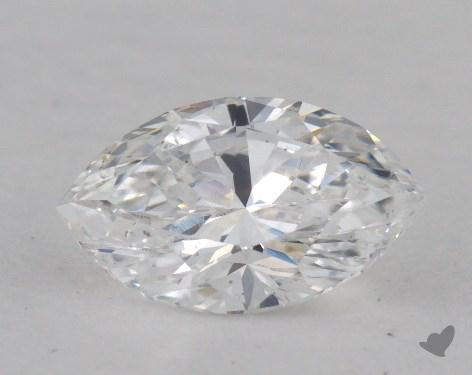 0.78 Carat D-VS2 Marquise Cut Diamond