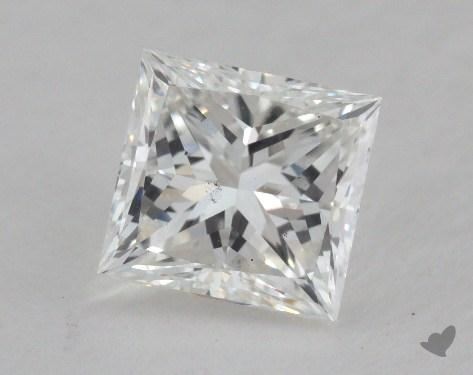 1.04 Carat G-VS2 Very Good Cut Princess Diamond