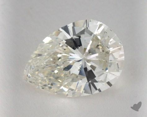 5.43 Carat I-SI2 Pear Shaped  Diamond