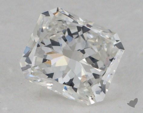 0.85 Carat F-VVS1 Radiant Cut Diamond