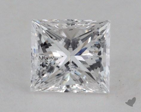 0.70 Carat D-SI2 Very Good Cut Princess Diamond
