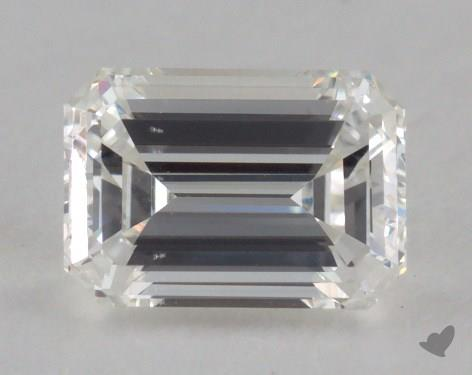 0.79 Carat H-VS2 Emerald Cut Diamond