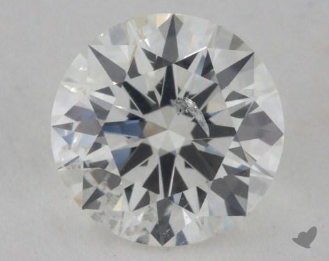 1.00 Carat H-SI2 Excellent Cut Round Diamond