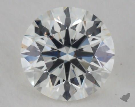 0.51 Carat I-VS2 Excellent Cut Round Diamond
