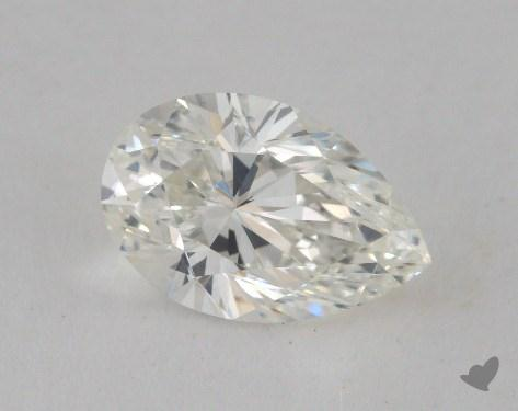 1.51 Carat H-VS1 Pear Shape Diamond