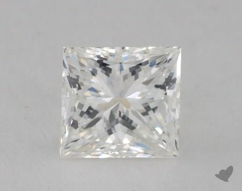 1.55 Carat G-SI1 Very Good Cut Princess Diamond