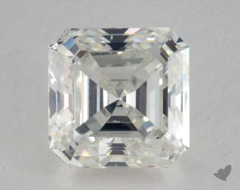 3.01 Carat G-SI1 Square Emerald Cut  Diamond