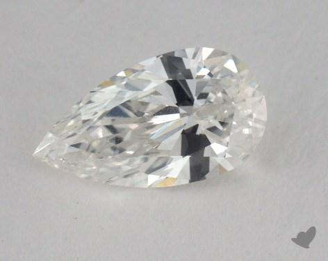 1.12 Carat F-VVS1 Pear Cut Diamond
