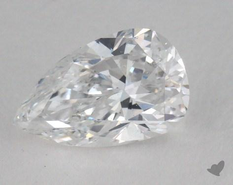 1.13 Carat D-SI2 Pear Shaped  Diamond