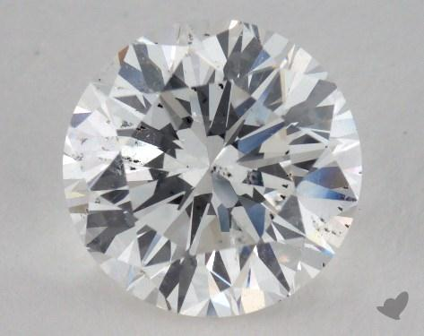 2.33 Carat F-SI2 Round Diamond 