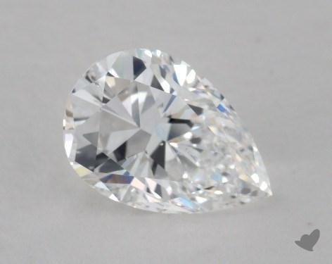 1.71 Carat E-VS2 Pear Shaped  Diamond