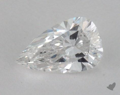 0.90 Carat E-SI1 Pear Cut Diamond 