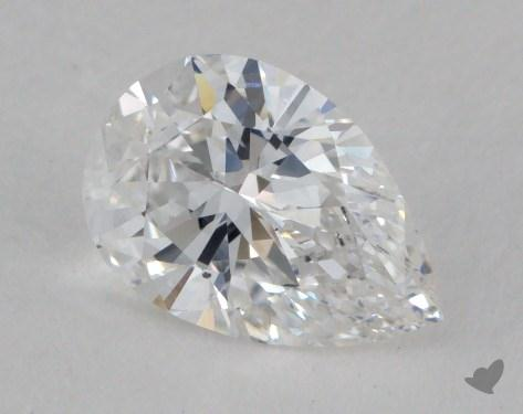 1.01 Carat D-SI2 Pear Shaped  Diamond