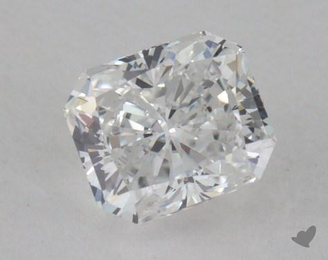0.71 Carat E-SI1 Radiant Cut  Diamond
