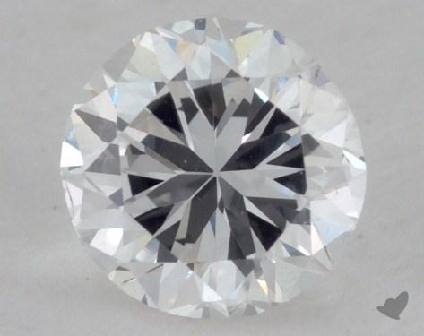 0.47 Carat F-VS2 Fair Cut Round Diamond