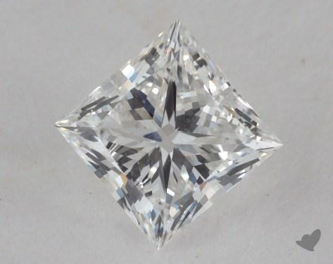 0.82 Carat F-VS2 Ideal Cut Princess Diamond