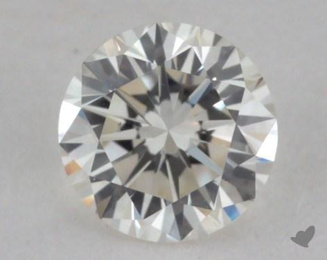0.38 Carat J-VS2 Very Good Cut Round Diamond