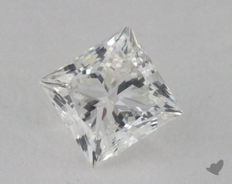0.83 Carat G-VS1 Ideal Cut Princess Diamond
