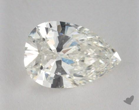 3.00 Carat H-VS2 Pear Cut Diamond