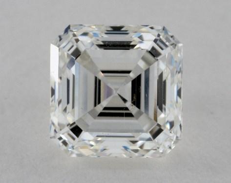2.33 Carat H-VS1 Asscher Cut Diamond