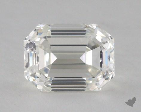 3.07 Carat H-VS1 Emerald Cut Diamond