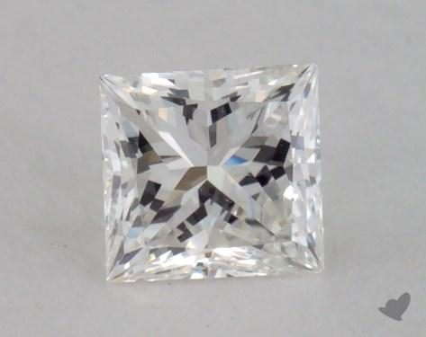 0.50 Carat H-VS2 Princess Cut  Diamond