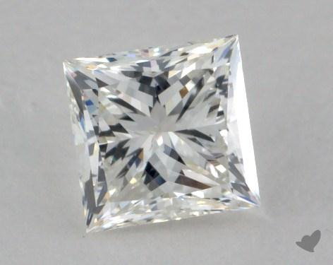 0.91 Carat H-VS2 Princess Cut  Diamond