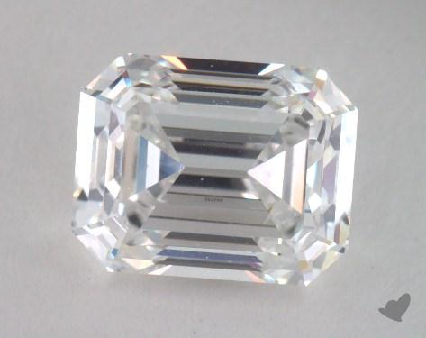 2.03 Carat E-SI1 Emerald Cut Diamond