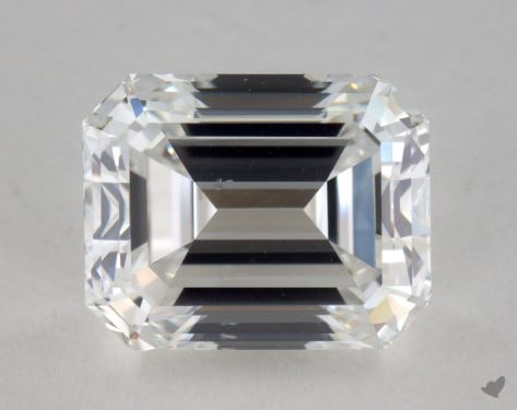 2.01 Carat F-VS2 Emerald Cut Diamond