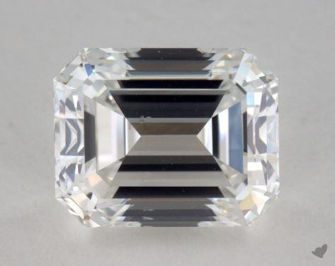 2.01 Carat F-VS2 Emerald Cut Diamond