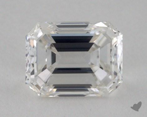 1.00 Carat G-VVS2 Emerald Cut Diamond