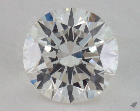 0.91 Carat H-SI1 Ideal Cut Round Diamond