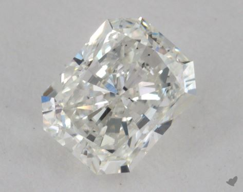 1.04 Carat H-VS2 Radiant Cut Diamond